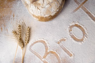 Brot im Mehl
